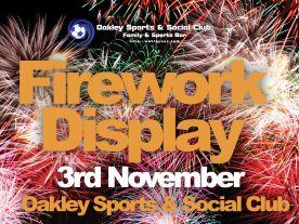 Fireworks Display '18