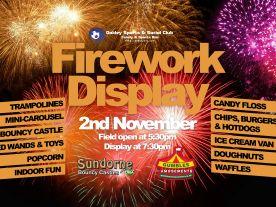Fireworks Display 2nd Nov 2019