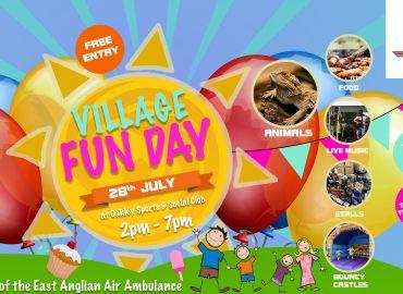 Village Fun Day 28th July