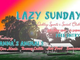 Lazy Day - 5th May 2019